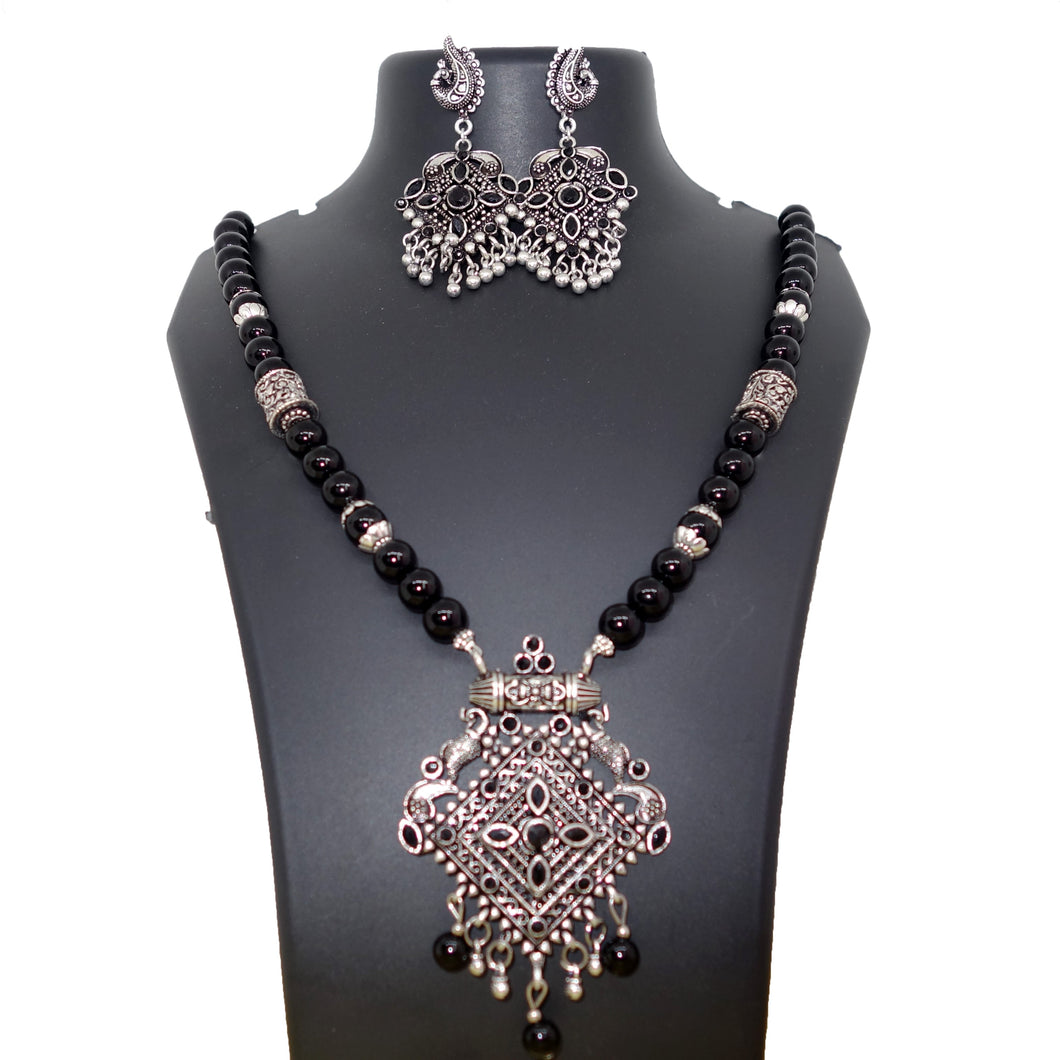 Black and Silver Antique