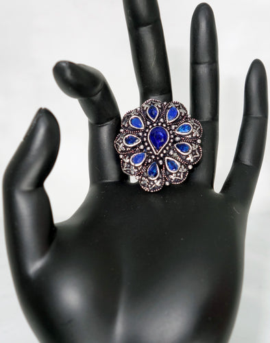 Blue TD Finger Ring - Inspired Creations