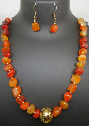 Bright Orange Stones - Inspired Creations