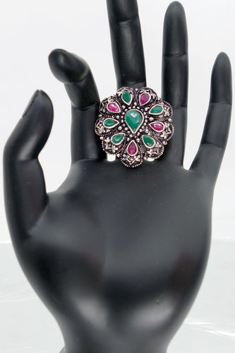 Multi Color TD Finger Ring - Inspired Creations