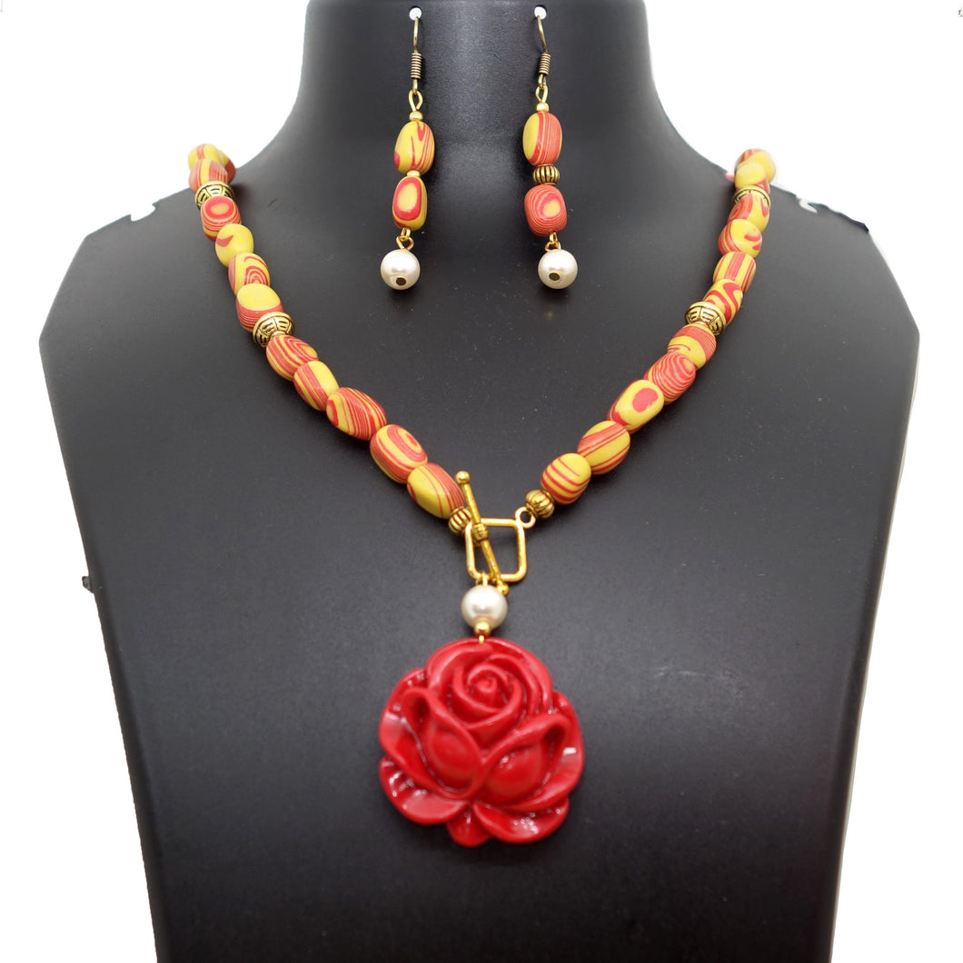Fiery Red Rose - Inspired Creations