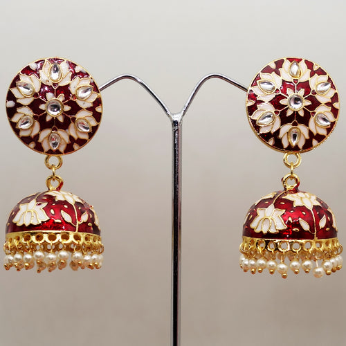 Meena and Kundan Jhumka