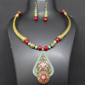 Nepali Pendant and Necklace