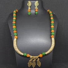 Load image into Gallery viewer, Orange and Green Necklace