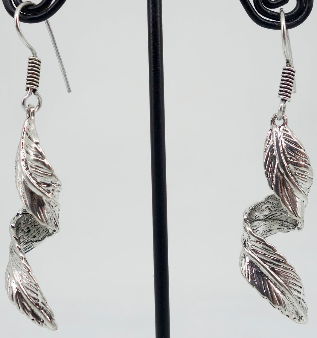 Silver leaves - Inspired Creations