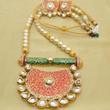 Load image into Gallery viewer, Three Parts Sun Kundan - Inspired Creations
