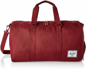 Herschel Novel Duffel Bag Wine Crosshatch