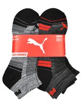 Load image into Gallery viewer, Men's Puma 6-Pack 1/2 Terry Quarter Crew Socks