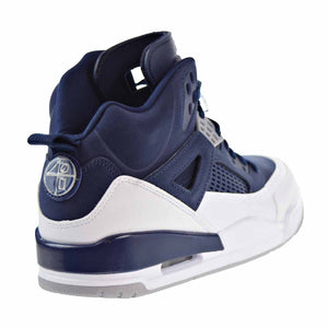 Men's Nike Jordan Spizike Midnight Navy/ Metallic Silver Sneakers