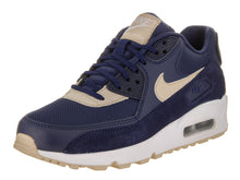 Load image into Gallery viewer, Women's Nike Air Max 90 Navy Blue and Cream Sneakers
