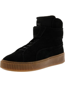 Women's Puma Platform Black High-Top Sneaker