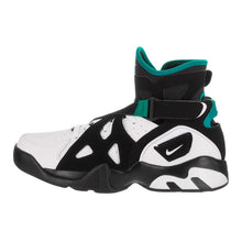 Load image into Gallery viewer, Men's Nike Air Unlimited Black and White Leather Basketball Shoes