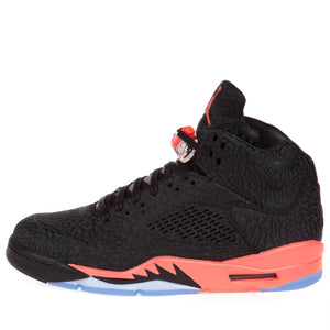 "Nike Men's Air Jordan 3LAB5 ""Infrared"" Black Sneakers"