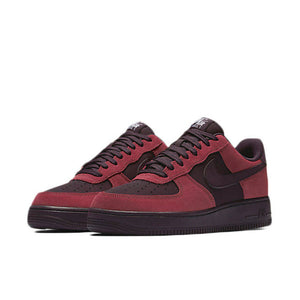 Men's Red Nike Air Force 1 '07 Sneakers