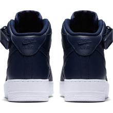 Load image into Gallery viewer, Men's Blue Nike Air Force 1 Mid '07 Basketball Shoes