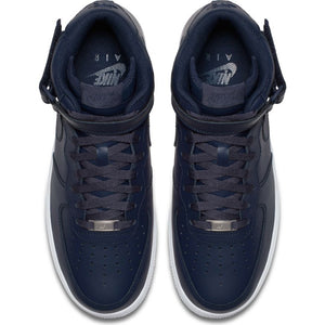 Men's Blue Nike Air Force 1 Mid '07 Basketball Shoes