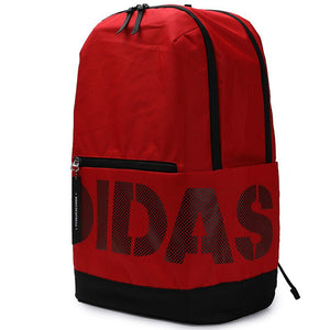 Adidas Red and Black Logo Backpack