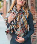 Warm and Cozy Blanket Scarf*