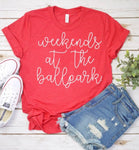 Weekends at the Ballpark Tee