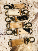 Hide & Leather Key Fobs