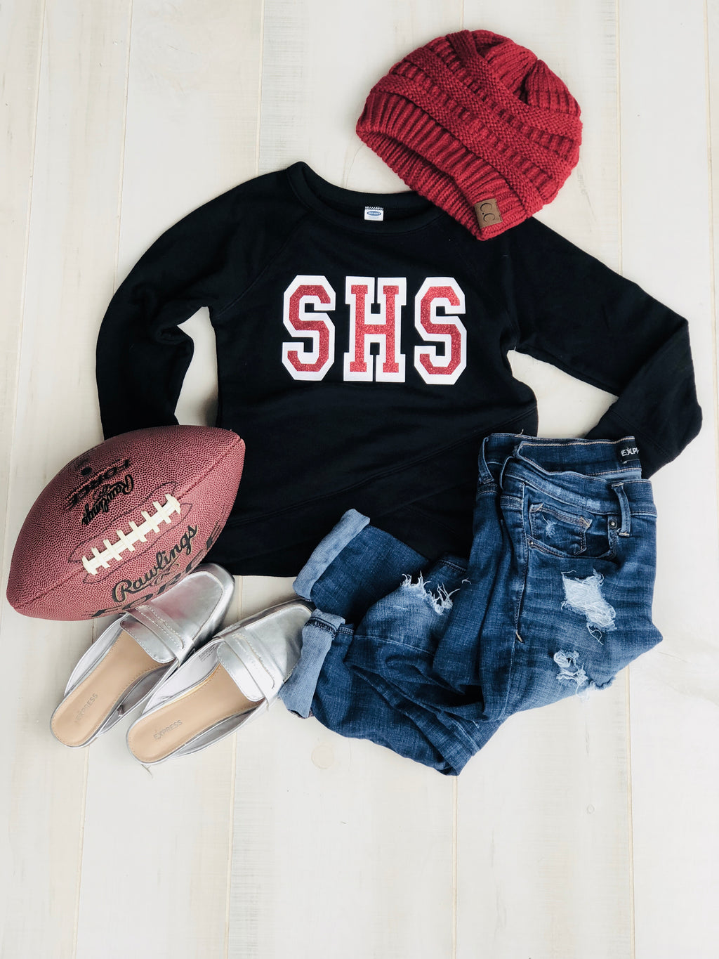 SHS CRISS CROSS SWEATSHIRT