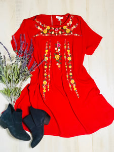 The Shelly Dress (Chili)*