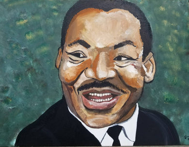 Martin Luther King Jr. Painting 3' x 4' or print 11 x 17