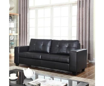 Nikki Sofa Black 3 Seater | 360HomeWare