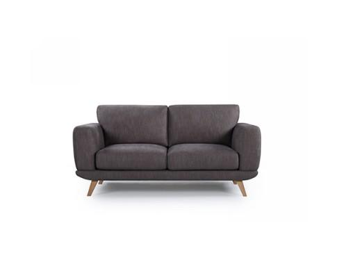 Modern Stylish Brown Alaska Sofa 2 Seater | 360HomeWare