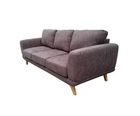 Modern Stylish Brown Alaska Sofa 3 Seater | 360HomeWare