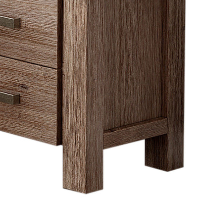 Nowra 2 Drawer Bedside Table | 360HomeWare