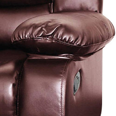 Dream Recliner Bonded Leather -1R -BROWN | 360HomeWare