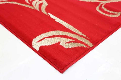 Morgan Rug Elegant Floral Red Cream | 360HomeWare