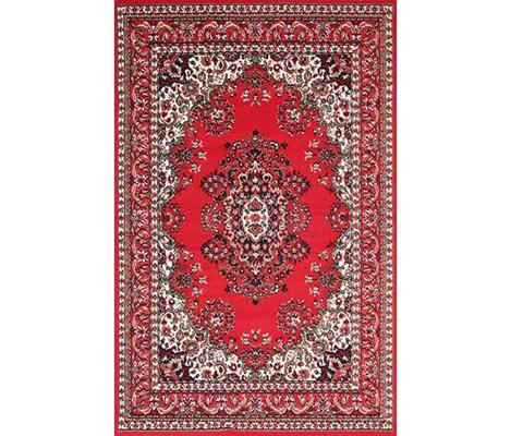 Morgan Traditional Medallion Red Design | 360HomeWare