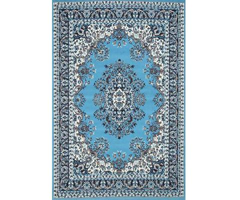 Morgan Traditional Medallion Blue Design | 360HomeWare