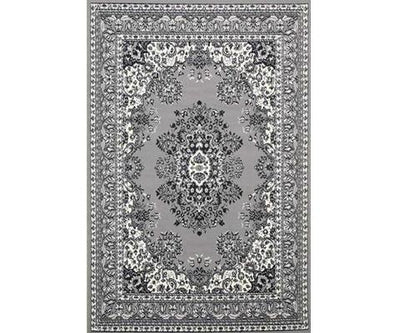 Morgan Traditional Medallion Grey Design | 360HomeWare
