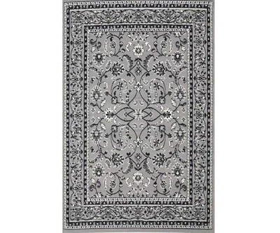 Morgan Rug Traditional All Grey Design | 360HomeWare