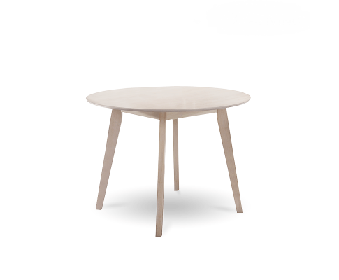 Round Dining Table Solid hardwood White Wash | 360HomeWare