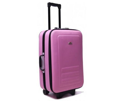 5pc Suitcase Trolley Travel Bag Luggage Set PINK | 360HomeWare