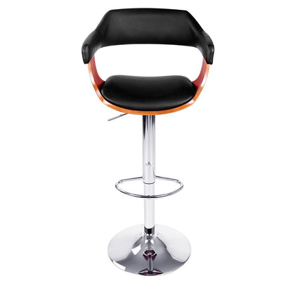 Artiss Wooden Bar Stool - Black | 360HomeWare