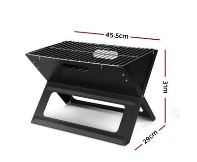 Grillz Portable Charcoal BBQ Grill | 360HomeWare