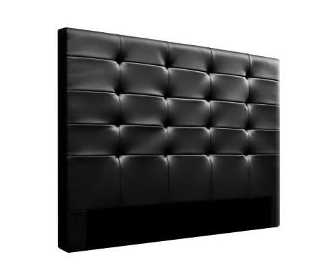 Beno Leather Headboard - Black | 360HomeWare