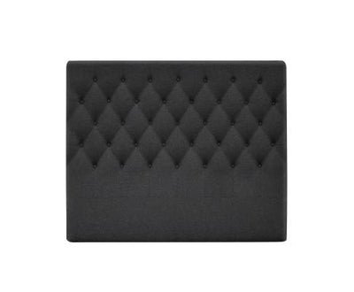 Upholstered Fabric Headboard - Charcoal | 360HomeWare