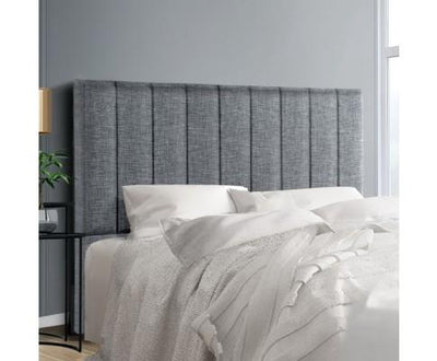 Upholstered SALA Fabric Headboard - Grey | 360HomeWare
