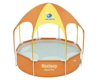 Bestway Above Ground Swimming Pool with Mist Shade | 360HomeWare