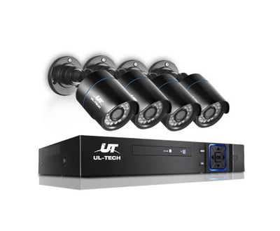 720P 4 Channel HDMI CCTV Security Camera | 360HomeWare