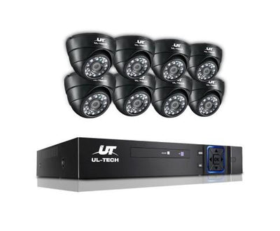 720P 8 Channel HDMI CCTV Security Camera | 360HomeWare
