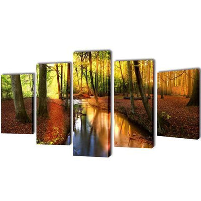 Canvas Wall Print Set - Forest | 360HomeWare