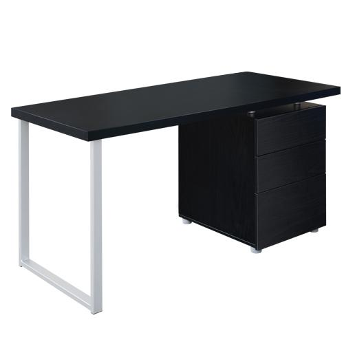 Artiss Metal Desk with 3 Drawers - Black | 360HomeWare