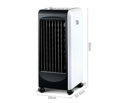 Evaporative Air Cooler and Humidifier (Black) | 360HomeWare